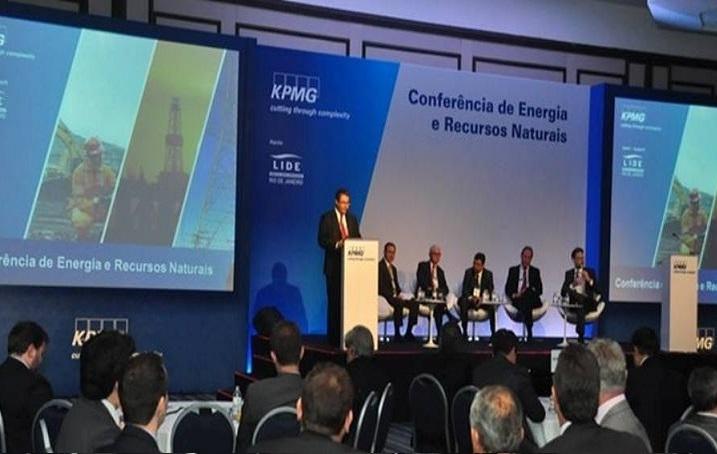 Conferência de Energia e Recursos Naturais - KPMG - no Hotel Copacabana Palace