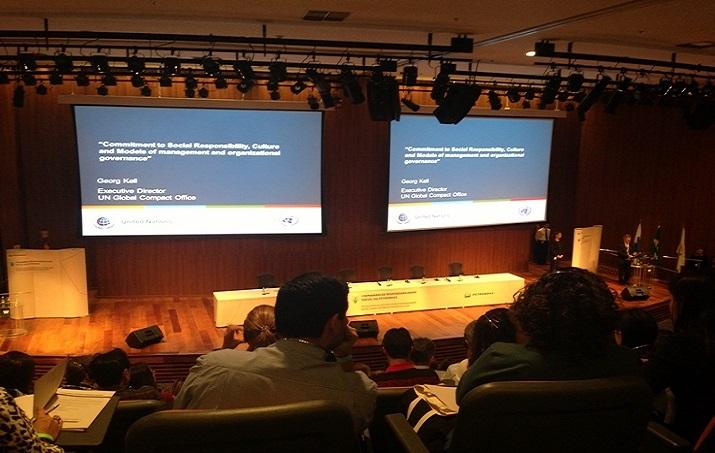 Primeiro Seminário de Resp. Social da Petrobras no auditório da CENPES