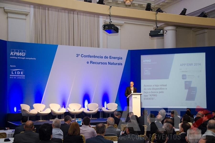 Projetor 10000 AL - 3ª Conferência de Energia e Recursos Naturais