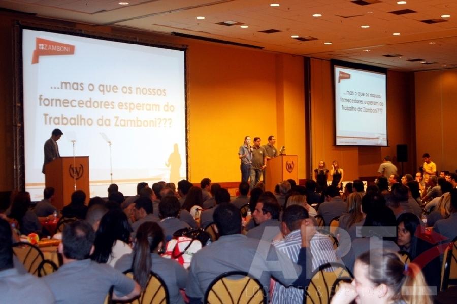 Projetor 15000 AL - Convenção de Vendas Zamboni