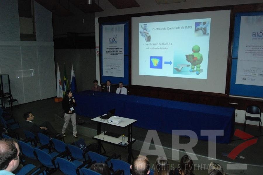 Projetor 3500 AL - Evento ABFM Rio