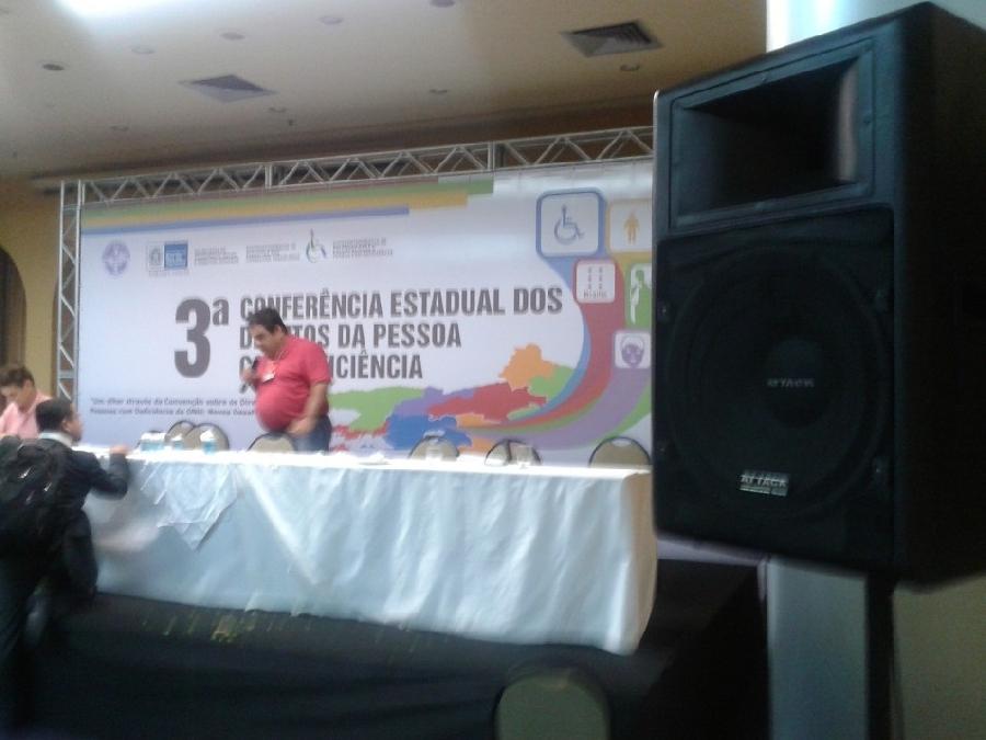 Evento 3ª Conferência Estadual dos Direitos da Pessoa com Deficiência