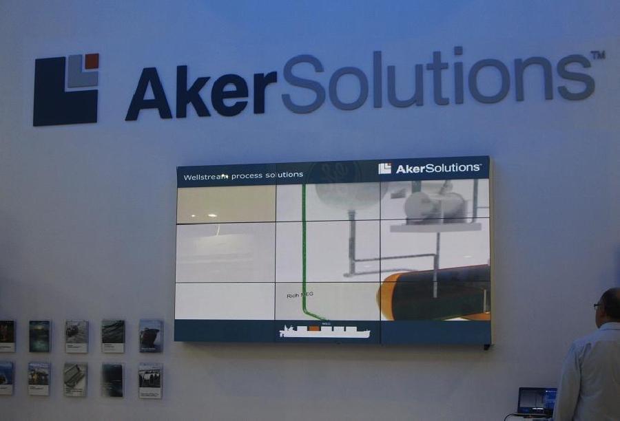 Videowall Aker