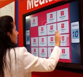 Aluguel de TVs Touch Screen e TVs 3D